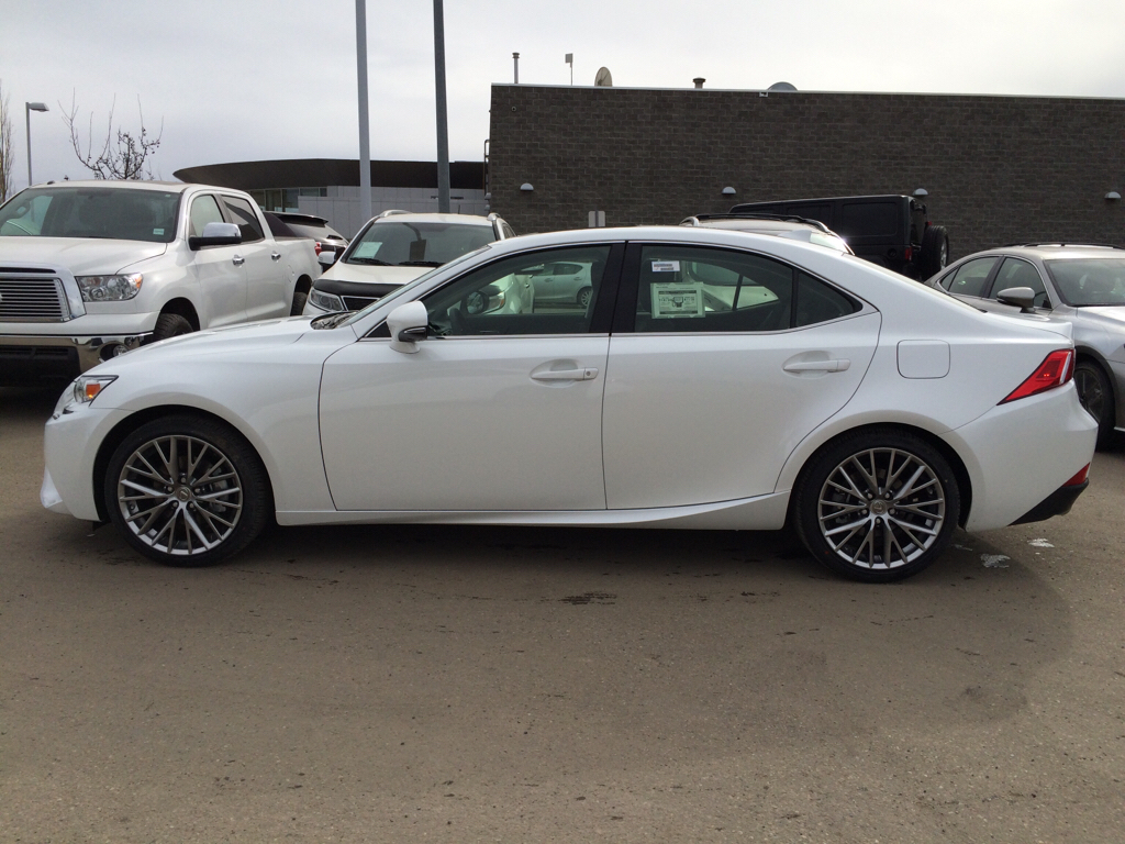 new 2015 lexus is 250 premium package 4 door car in edmonton l9687 lexus of edmonton. Black Bedroom Furniture Sets. Home Design Ideas