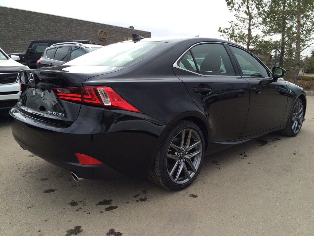 new 2015 lexus is 250 f sport series 2 4 door car in edmonton l9626 lexus of edmonton. Black Bedroom Furniture Sets. Home Design Ideas