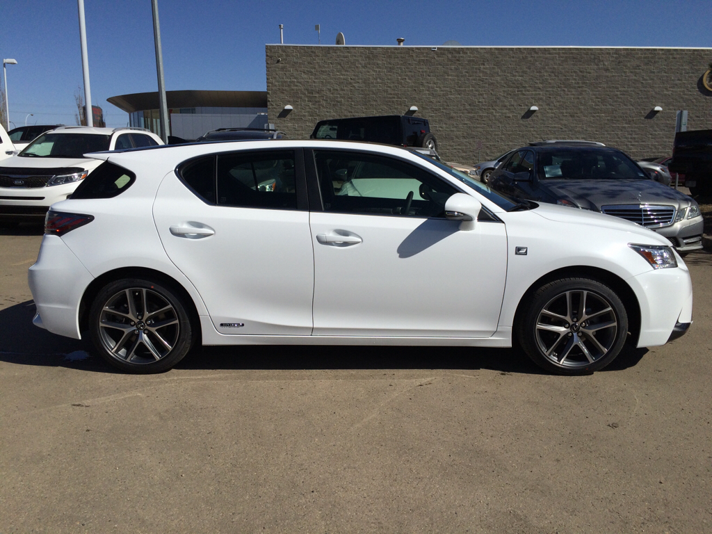 new 2015 lexus ct 200h f sport package 4 door car in edmonton l9583 lexus of edmonton. Black Bedroom Furniture Sets. Home Design Ideas
