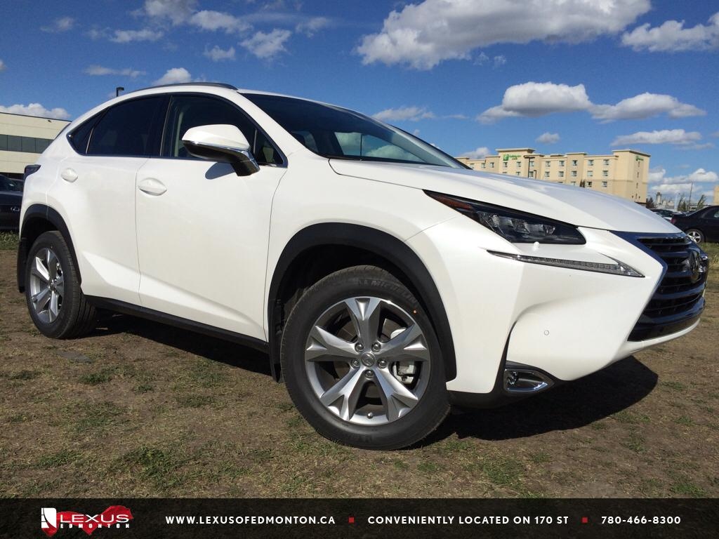 pre owned 2015 lexus nx 200t demo unit executive package 4 door sport utility in edmonton. Black Bedroom Furniture Sets. Home Design Ideas